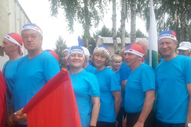 Активные и жизнерадостные пенсионеры Вологодчины проявили себя на спартакиаде